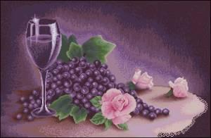 Натюрморт в лиловых тонах