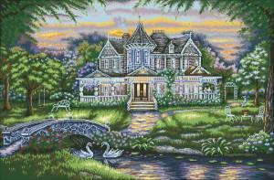 Схема Романтичный дом