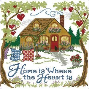 Схема Дом там, где любовь