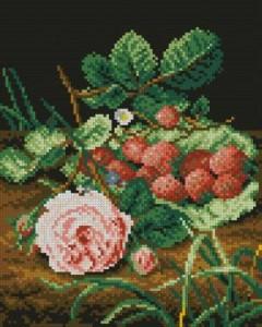 Роза и ягоды