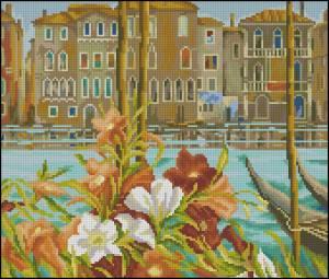 Схема Цветы на канале