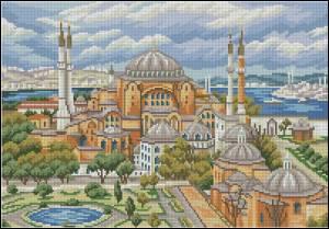 Схема Стамбул.Святая София