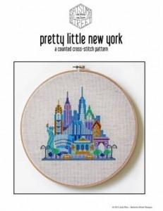 Схема Красочные города. Нью-Йорк