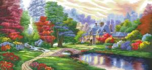 Схема Яркий пейзаж