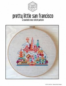 Схема Красочные города. Сан-Франциско