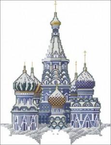 Схема Собр Василия Блаженного (монохром)