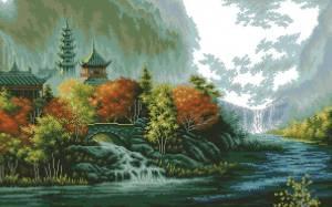 Схема Живописный пейзаж