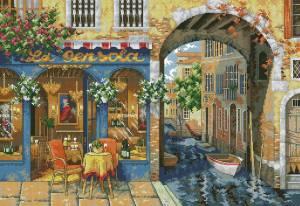 Схема Уютное кафе/Charming Waterway