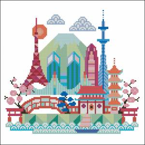 Красочные города. Токио