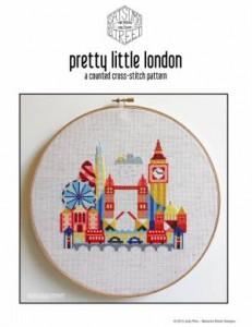 Схема Красочные города. Лондон