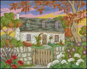 Схема Домик в саду