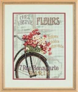 Схема Велосипед в Париже