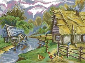 Схема Водяная мельница