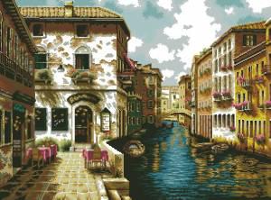 Схема Путешествия Европой. Венеция