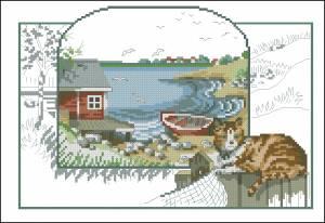 Схема Вид на залив