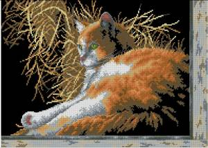 Схема Место под солнцем (кошка)