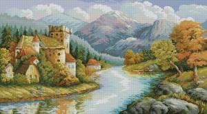 Город у реки