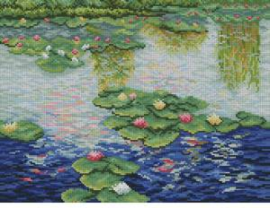 Схема Водяная лилия (Клод Моне)