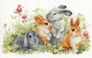 Схема Забавные крольчата