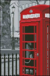 Лондонский телефон /  London telephone