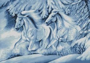 Схема Зимняя сказка