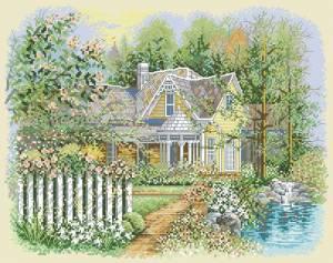Схема Викторианский домик