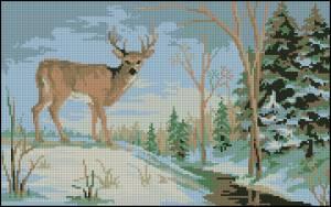 Схема В зимнем лесу