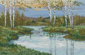 Схема Река