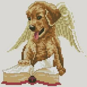 Ангел щенок