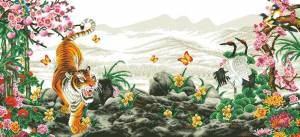 Схема Тигр и птицы